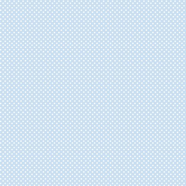 Lite Blue with Aqua Polka Dot