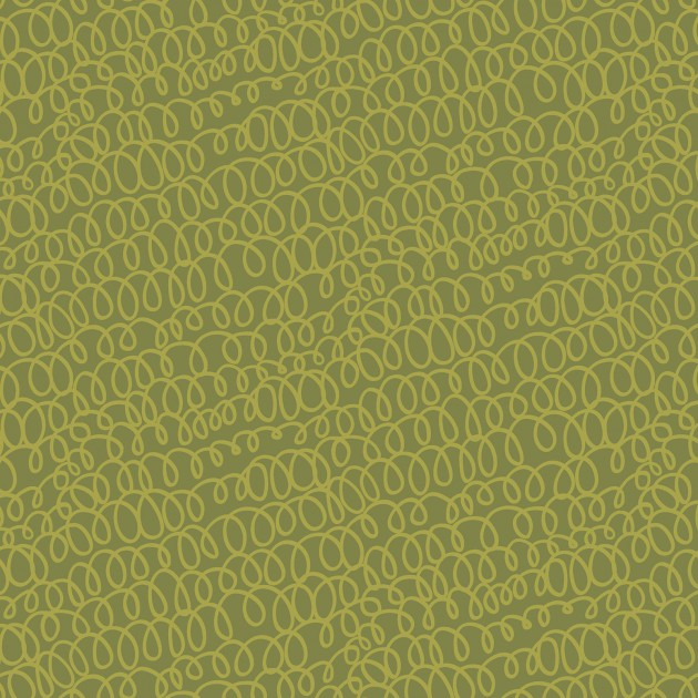 All's Wool That Ends Wool - Sage green swirls
