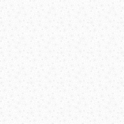 Benartex Kansas Domino Effect 12412-09 Circle & Dot white on white