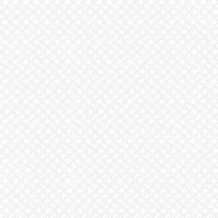 Benartex Kansas Domino Effect 12419-09 ring of Circles white on white