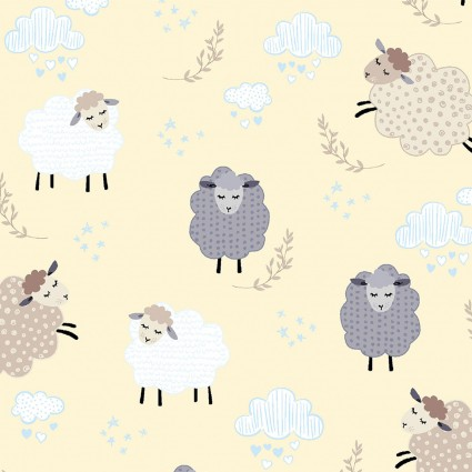 Sweet Dreams - Dreamy Sheep Sky Buttercream