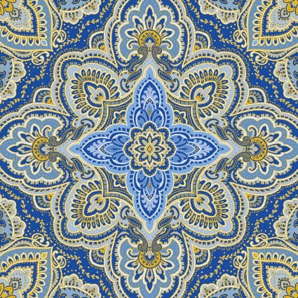 Blue Symphony - Medallion Cobalt