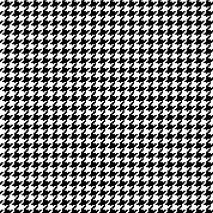 Better Basics Black/White Sm Houndstooth