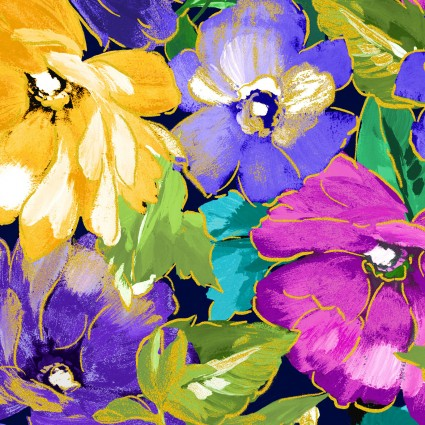Watercolor Wishes Metallic KAS7944M-55