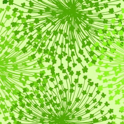 Dandelion Dreams - green  - Backing - 108
