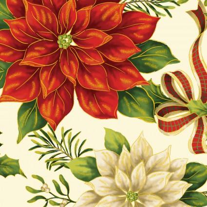 Ode To Joy - Cardinal Garden - Cream