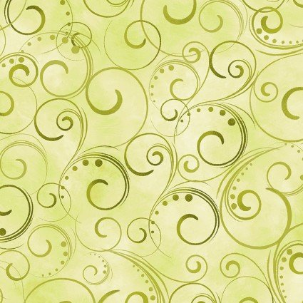 108 Swirling Splendor Moss Green