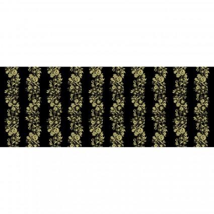 Shimmer & Shine Pearl KAS9707P-12 Shimmery Flower Stripe