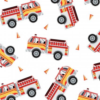 Fire Engines White (Save the Day)