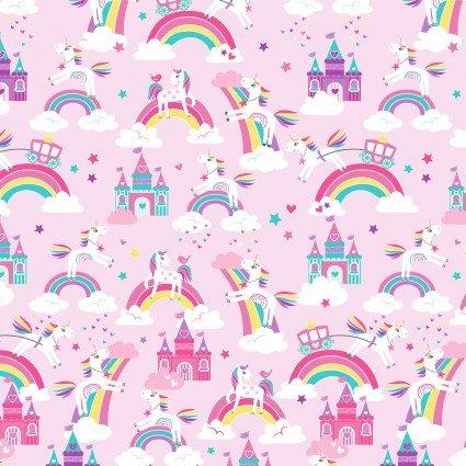 Unicorn Magic Pearlescent - Unicorn Dreams, Pink - by Kanvas Studios
