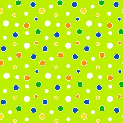 Toadally Cool - Lime Cool Dots Glow in the Dark