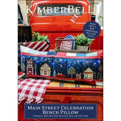 Main Street Celebration Bench Pillow CD