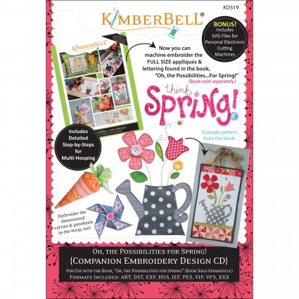 Kimberbell Oh, The Possibilities For Spring Companion CD