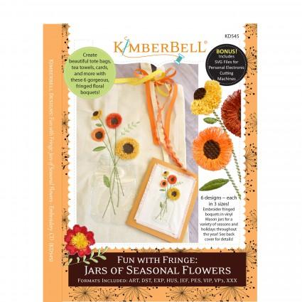 Jars of Seasonal Flowers