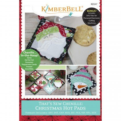 Kimberbell That's Sew Chennille Christmas Hot Pads