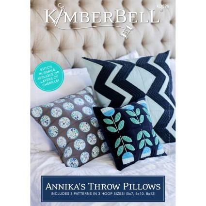 Kimberbell Annika's Throw Pillows