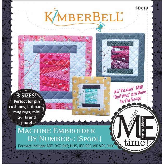 Machine Embroider By Number: Spool