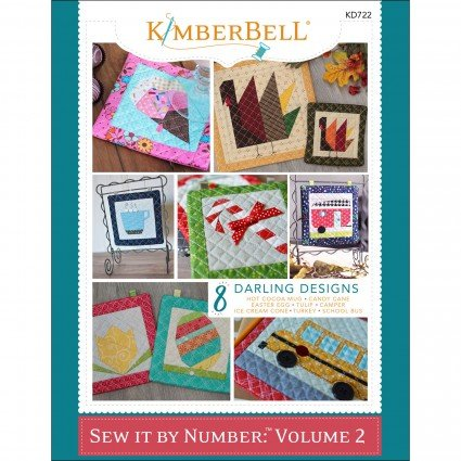 Sew It By Numbers Volume 2