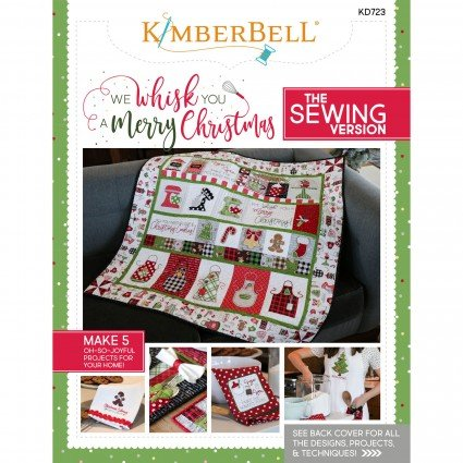 We Whisk You a Merry Christmas Sewing Book