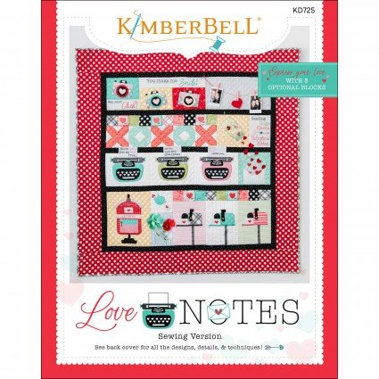 Love Notes Mystery Quilt Pattern