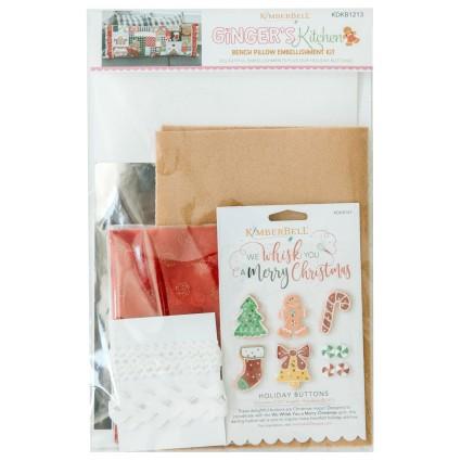 Ginger's Kitchen Bench Pillow Embellishment Kit