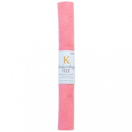 Kimberbell Embroidery Felt Pink Grapefruit