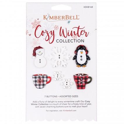 Cozy Winter Button Collection