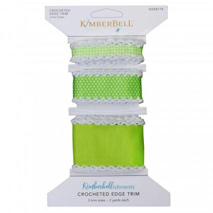 Kimberbell Crocheted Edge Trim - Green