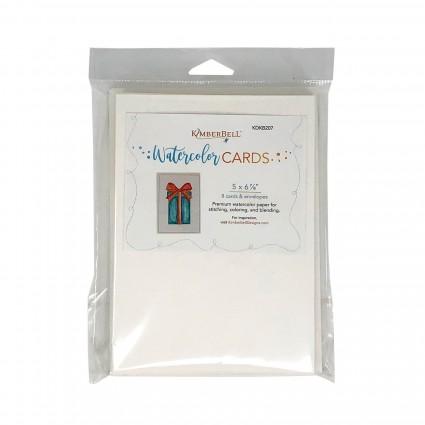 Kimberbell Premium Watercolor Cards/Envelopes