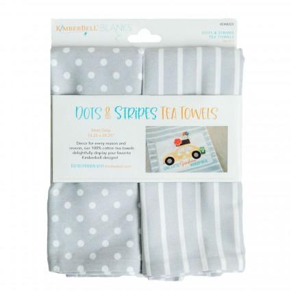 Dots & Stripes Tea Towels