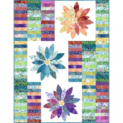 Garden of Dreams Blooms Quilt Kit