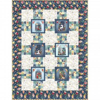 Mermaids & Unicorns Quilt and Pillowcase Kit