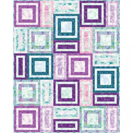 Bejeweled Batiks, quilt kit