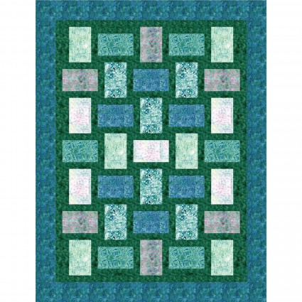 Charming Fractions with Bejeweled Batiks