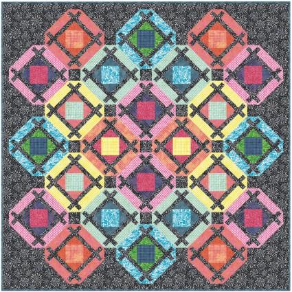 Color Therapy Batiks Quilt Kit