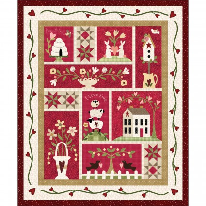 From the Heart, The Little Things Kit/The Quilt Company