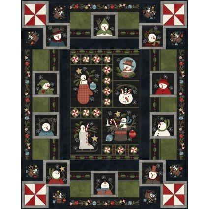 Snowdays 63in x 78in Flannel Kit  (Pre-Order)-06/30/2021