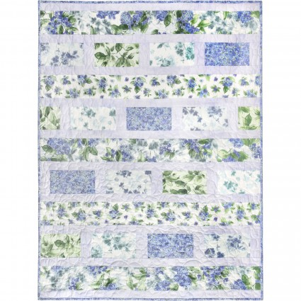 Watercolor Hydrangeas, quilt kit