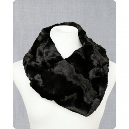Infinity Scarf Cuddle Kit Caviar