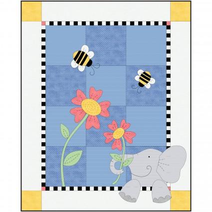 Eloise Elephant Quilt Kit