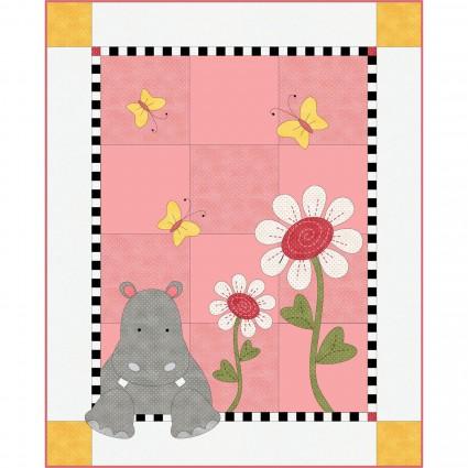 Hannah Hippo Quilt Kit