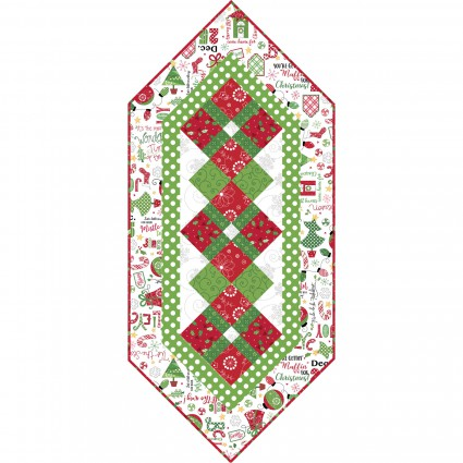 Jingle all the Way Table Runner Kit