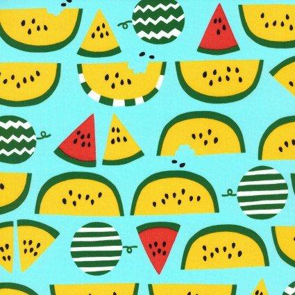 Fruits Watermelon Oxford Cotton