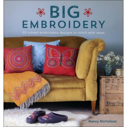 Big Embroidery Project Book