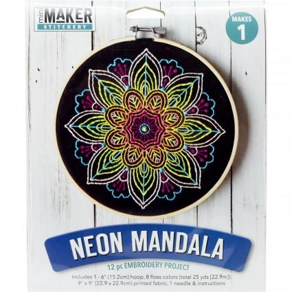 Mini Maker: Stitchery Kit - Wild Flowers