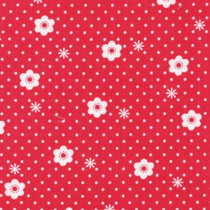 Red Daisy Dot