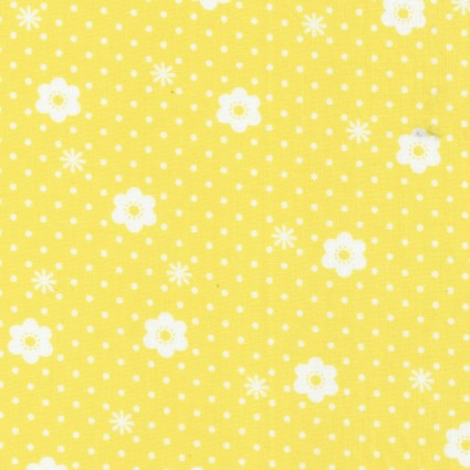 Yellow Daisy Dot