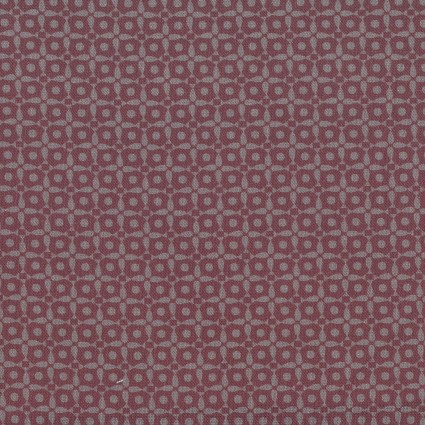 Dancing in the Blossom burgundy geometric tonal