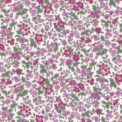 Scarlet Floral Lawn