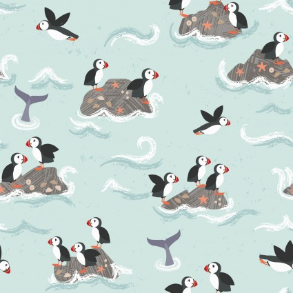 Spindrift Puffins